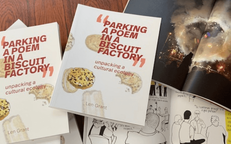 Parking a Poem in a Biscuit Factory